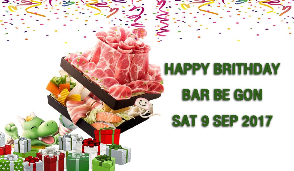 Happy Brithday BarBeGon