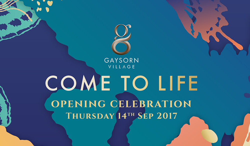 Grand Opening Gaysorn Village