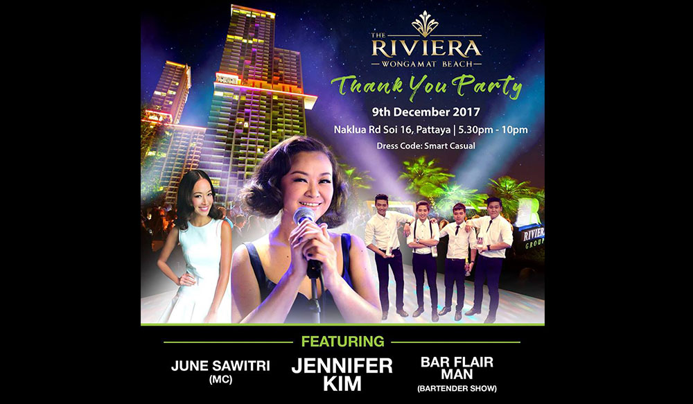 Thank You Party The Riviera