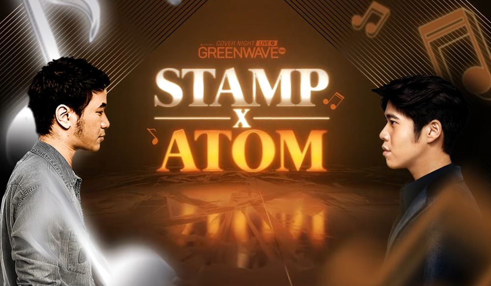 GREEN WAVE presents Cover NightLive STAMP X ATOM