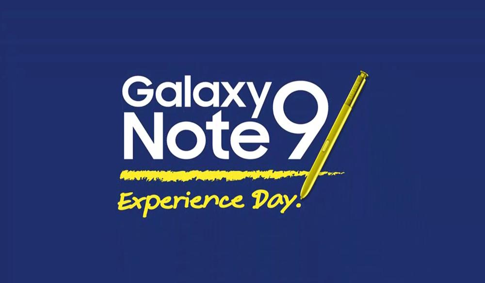 ชมย้อนหลัง Galaxy Note9 Experience Day
