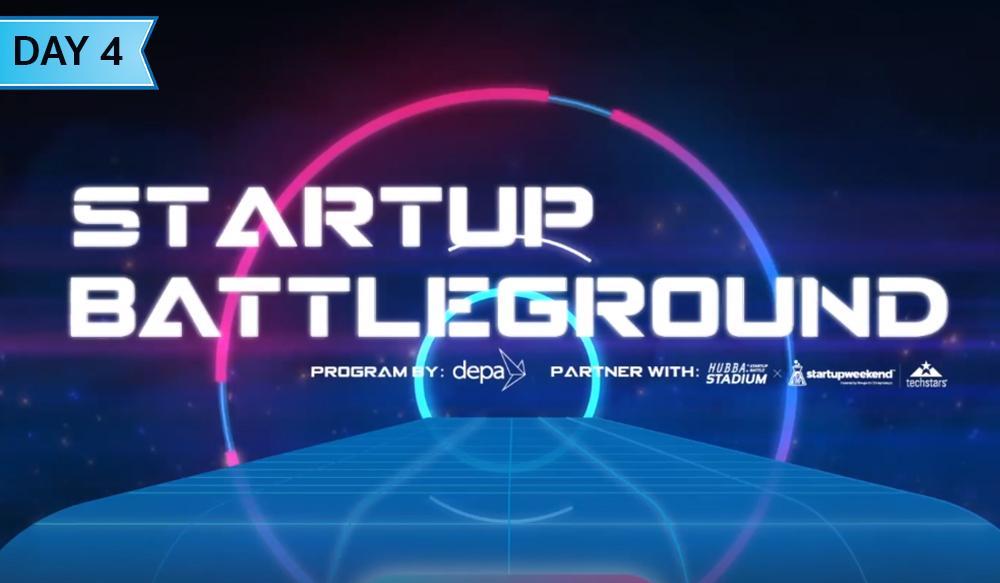 ชมย้อนหลัง Startup Battleground | Day4