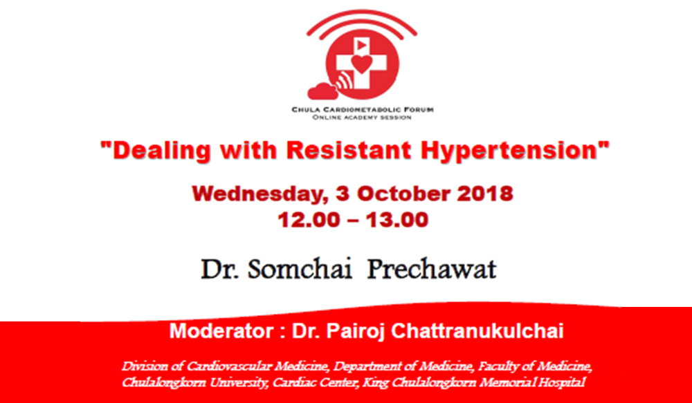 Dealing with Resistant Hypertension (Private)