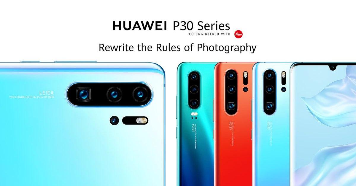 ชมย้อนหลัง Huawei P30 Series