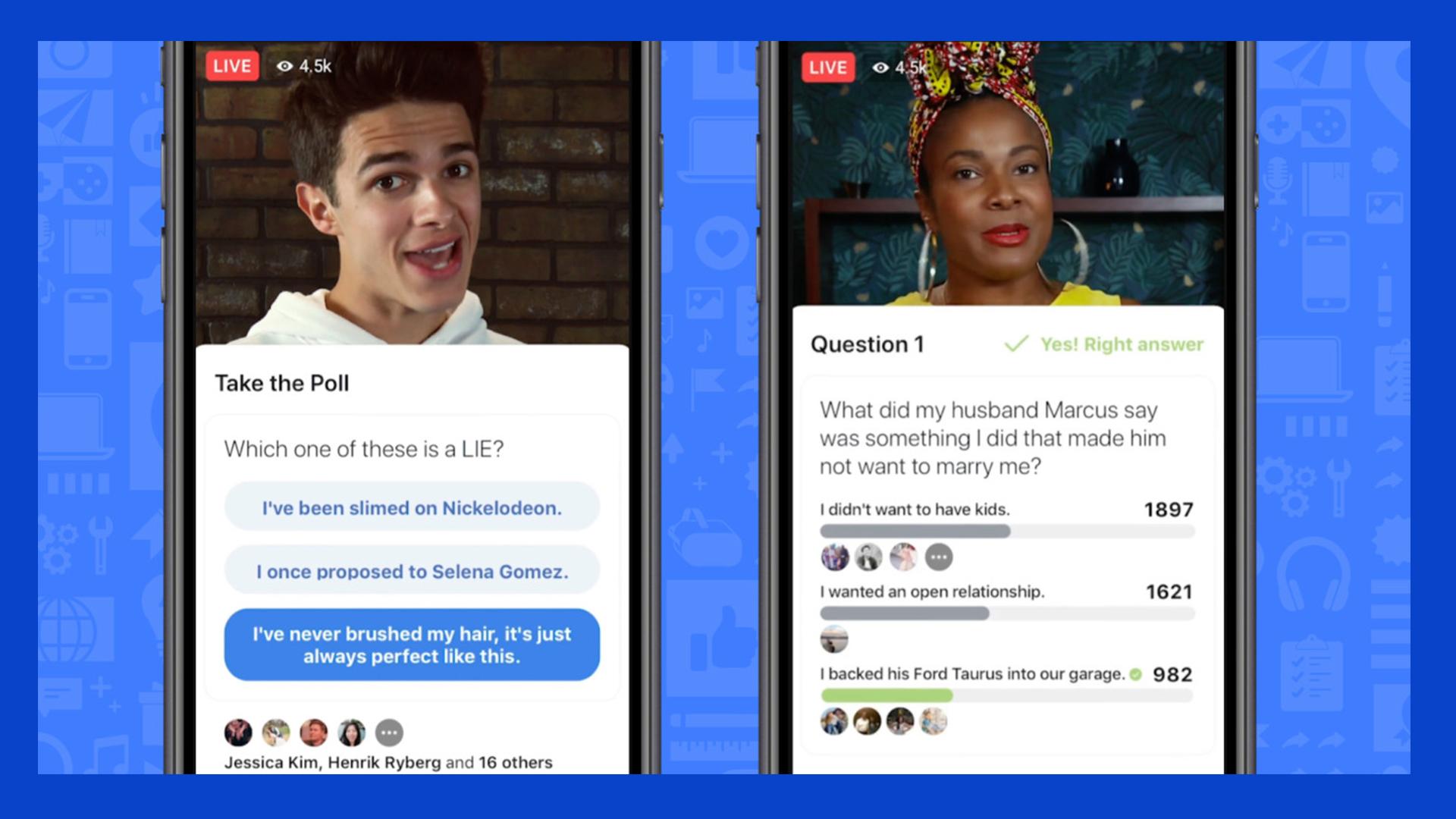Facebook ไม่น้อยหน้า!! เพิ่มแพลตฟอร์มเกมโชว์ตอบปัญหาในวิดีโอ Live คล้าย Panya